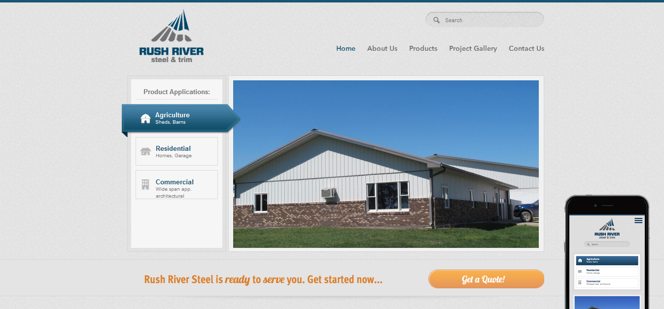 Rush River Steel & Trim